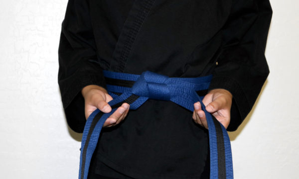 Kids Blue Black Belt (7-12)