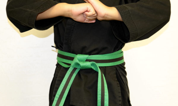 Kids Green Black Belt (7-12)