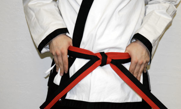 Adult NCS 2nd Kyu Red Black Belt