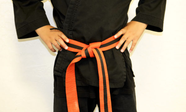 Kids Orange Black Belt (4-6)