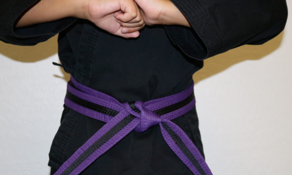 Kids Purple Black Belt (7-12)