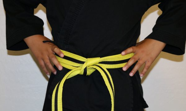 Kids Yellow Black Belt (4-6)