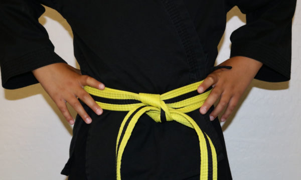 Kids Yellow Black Belt (7-12)